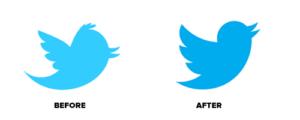 twitter logo change